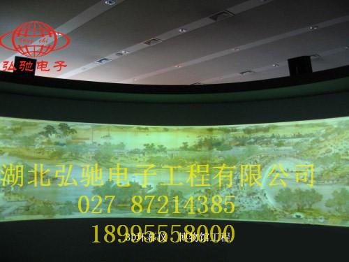 投影融合环幕系统